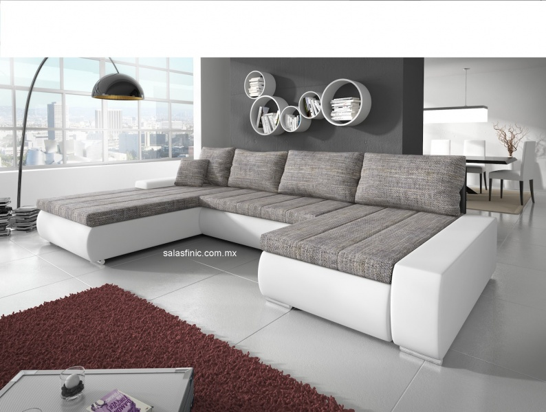 Salas sofas muebles finic for Muebles de sala de estar modernos